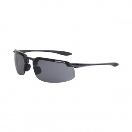 Radians ES4 Smoke Crystel Black Frame Safety Glasses 12 PR/Box