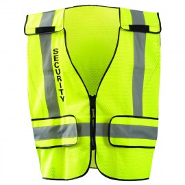 "Occunomix DOR Public Safety ""SECURITY"" Mesh Vest LUX-PSSE-DOR Class 2"