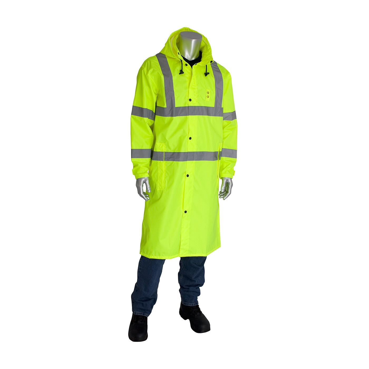 Pip Ansi Class 3 353 1048 Ly High Visibility Rainwear