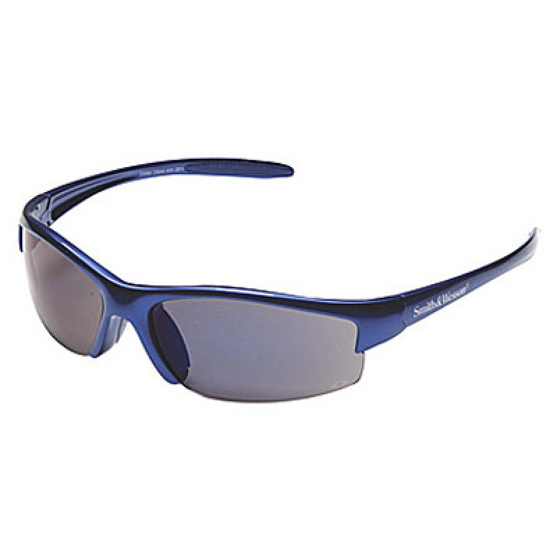 Jackson Safety Smith & Wesson Equalizer Safety Glasses with Blue Frame and Blue Mirror Lens 12/Box