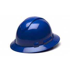 Pyramex HP54160 Ridgeline Full Brim Hard Hat   Blue Color - 12 / CS
