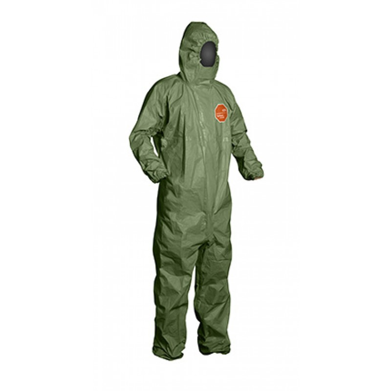 DuPont™ Tychem 2000 SFR Coveralls, Green (Case of 4)