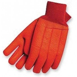 Double Dipped PVC Insulated Knit Wrist Glove 12 Pairs
