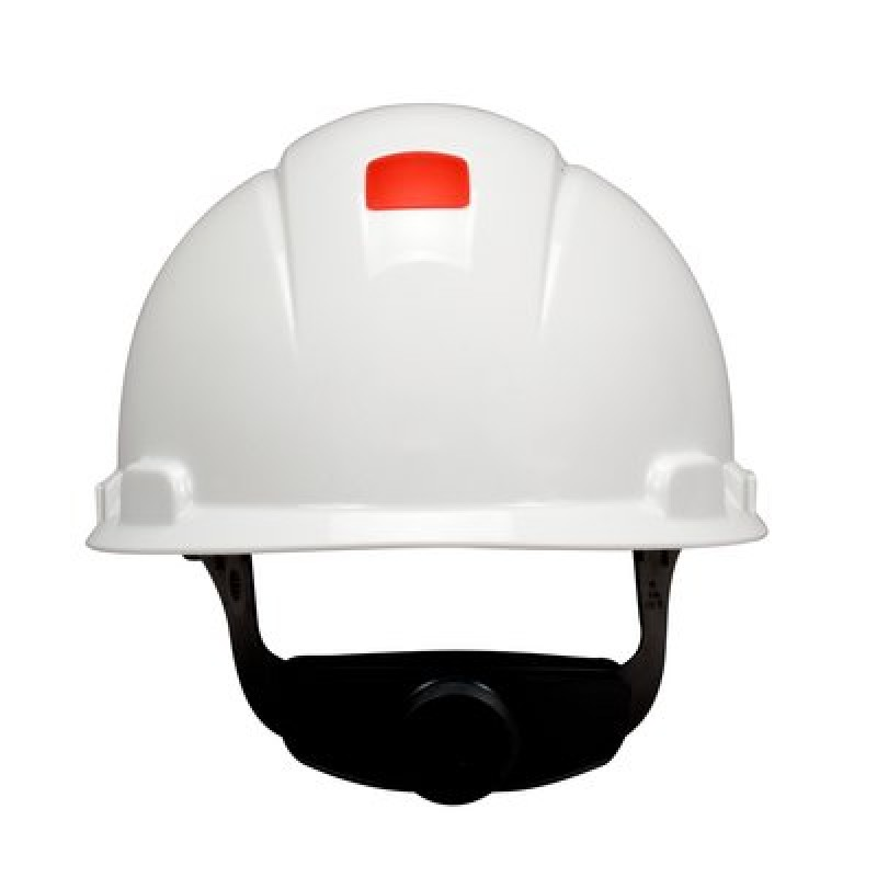 3M™ Hard Hat with Uvicator H-701V-UV, Vented ,White, 4-Point Ratchet Suspension (1 Each)