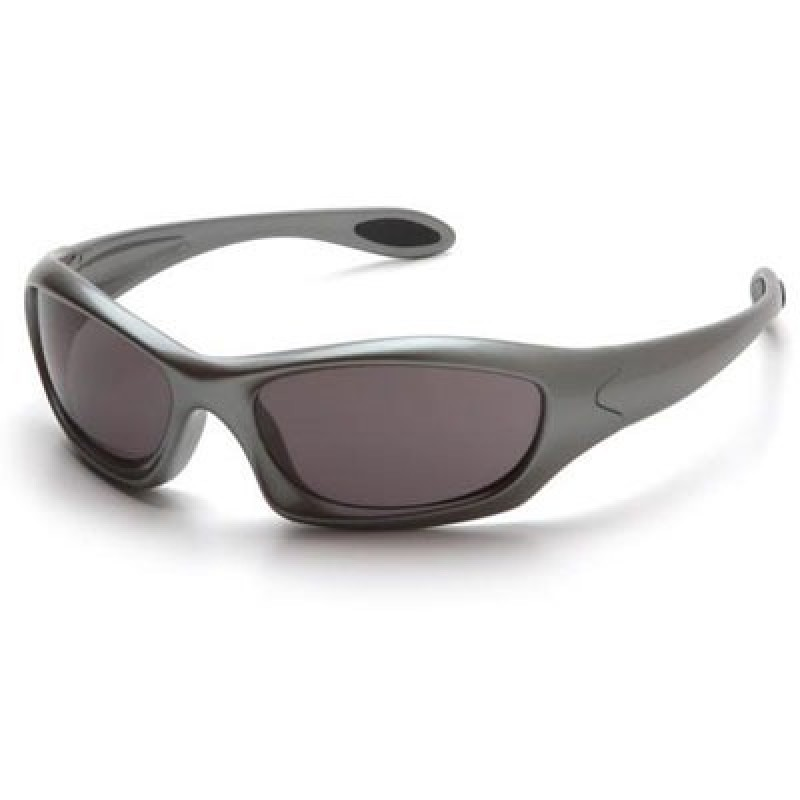 Pyramex Safety Zone III Safety Glasses - Gray Lens with Gun Metal Frame 12/Box