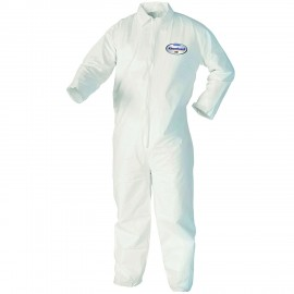 Kimberly Clark 44303 Kleenguard™ A40 Liquid & Particle Protection Coveralls (25 Per Case) Large