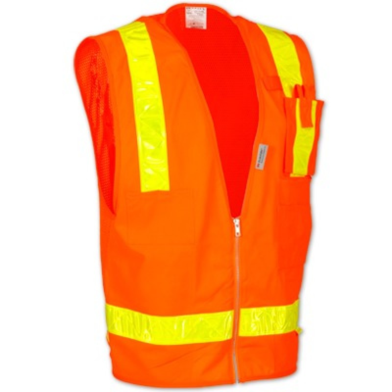 OccuLux Class 2 Gloss Tape Safety Vest