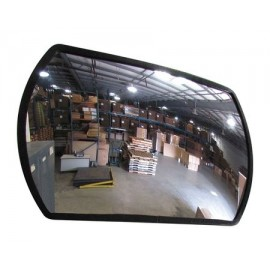 "Domes and Mirrors by Se-Kure SRTABS-18X26 18X26"" Roundtangular Convex Mirror"