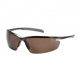 Bouton Commander Polarized Safety Glasses Brown Lens (12 Pair)