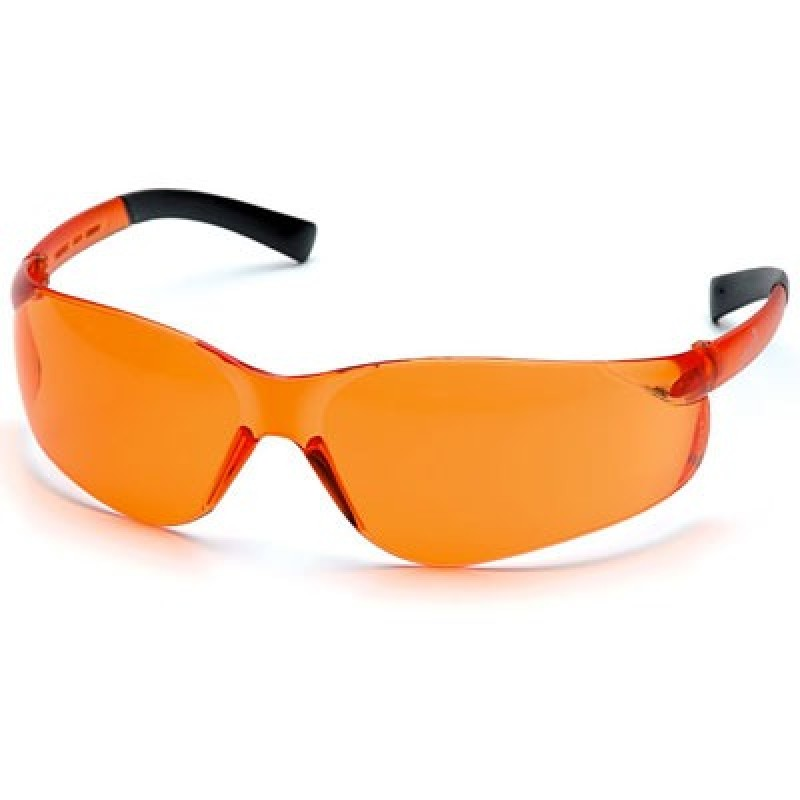 Pyramex Ztek Orange Frame/Orange Lens 12/Box