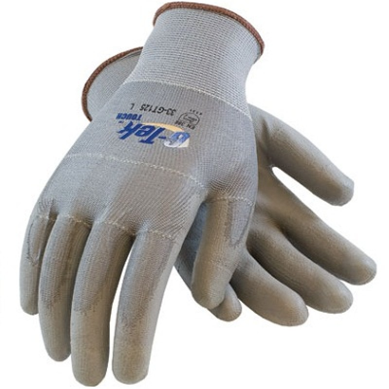 PIP 33-GT125 G-Tek Touch Polyurethane Coated Gloves - Palm Coating Touch Screen Compatible 25/DZ