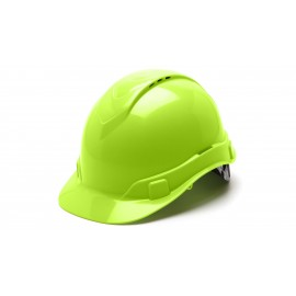 Pyramex HP44131V Ridgeline Hard Hat  Lime Color - 16 / CS