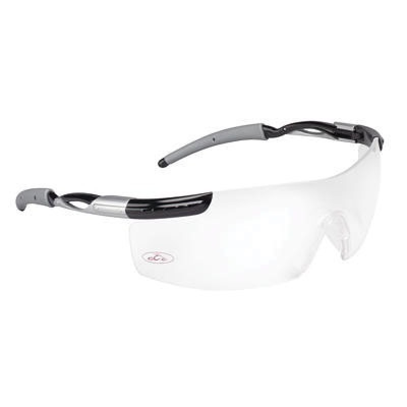 OCC 800 Series With Black/1236 Temples and Clear Anti-Fog Lens