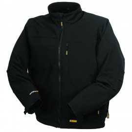 Dewalt Soft Shell Heated Jacket Black Color - 1 / Box