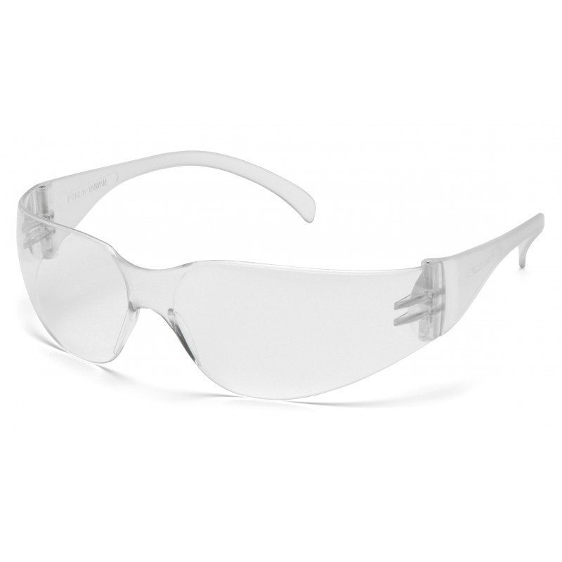 Pyramex Safety - Intruder - Clear Frame/Clear-Hardcoated Anti-fog Lens Polycarbonate Safety Glasses - 12 / BX