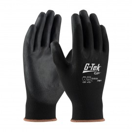 PIP 33-B125/S G-Tek Seamless Knit Nylon Glove with Polyurethane Coated Smooth Grip on Palm & Fingers Small 25 DZ