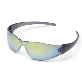 MCR Checkmate Safety Glasses Rainbow Mirror Lens 1/DZ