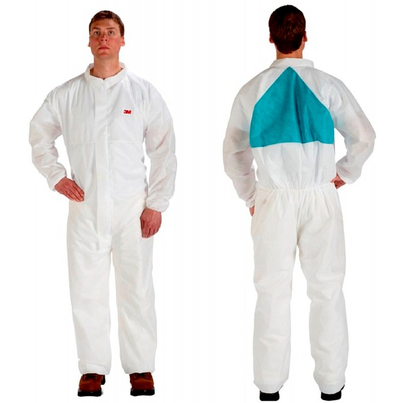 3M Disposable Protective Coverall Safety Work Wear 4520CS-BLK-L 25 EA/Case