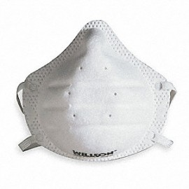 North Honeywell N95 ONE-Fit Molded Cup Disposable Particulate Respirator  Meets NIOSH Standards (20/Box)