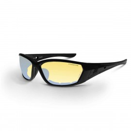 Radians 710 Indoor/Outdoor Revo AntiFog Matte Black Safety Glasses 12 PR/Box