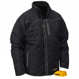 DEWALT® DCHJ075B Unisex Heated Quilted Soft Shell Jacket