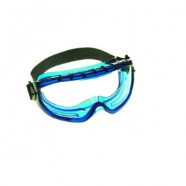 Jackson Safety V80 Monogoggle XTR:Blue Frame,AF Clear Lens Safety Goggles 6/Box
