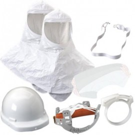 3M™ Hood Assembly H-422, with Inner Shroud and Hardhat