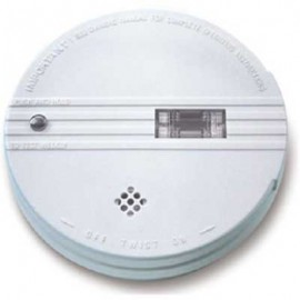 Brooks Ionization Smoke Alarm w/ Safety Light