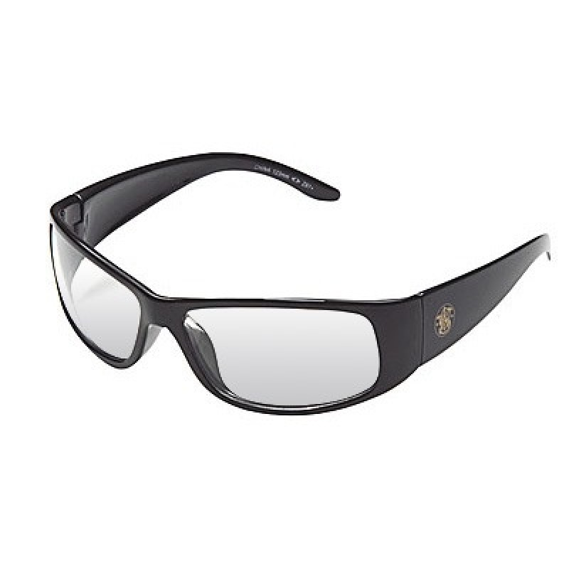 Black Frame Safety Glasses : Elite Safety Glasses with Black Frame and Indoor/Outdoor ...