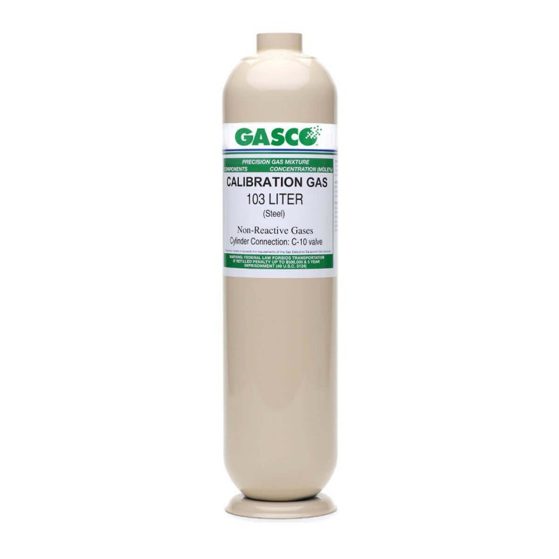 103 Liter Single Gas (20.9% O2) Calibration Gas, Nitrogen Balance