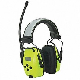 Honeywell 1030390 Sync Hi Vis Digital AM/FM Radio Earmuff