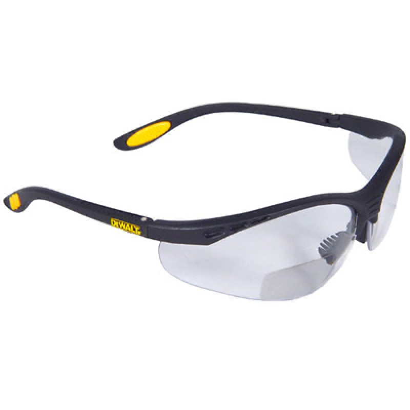 DeWalt Reinforcer Rx Bifocal Safety Glasses - Clear