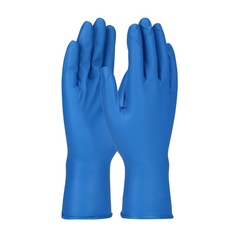 PIP Disposable Gloves Nitrile 8 Mil Food Plus Grippaz Technology (10 Bag/CS)