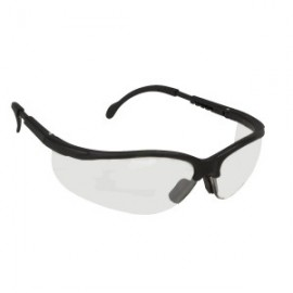 Cordova Boxer Safety Glasses Clear Scratch Resistant | EKB10S (12 PR)