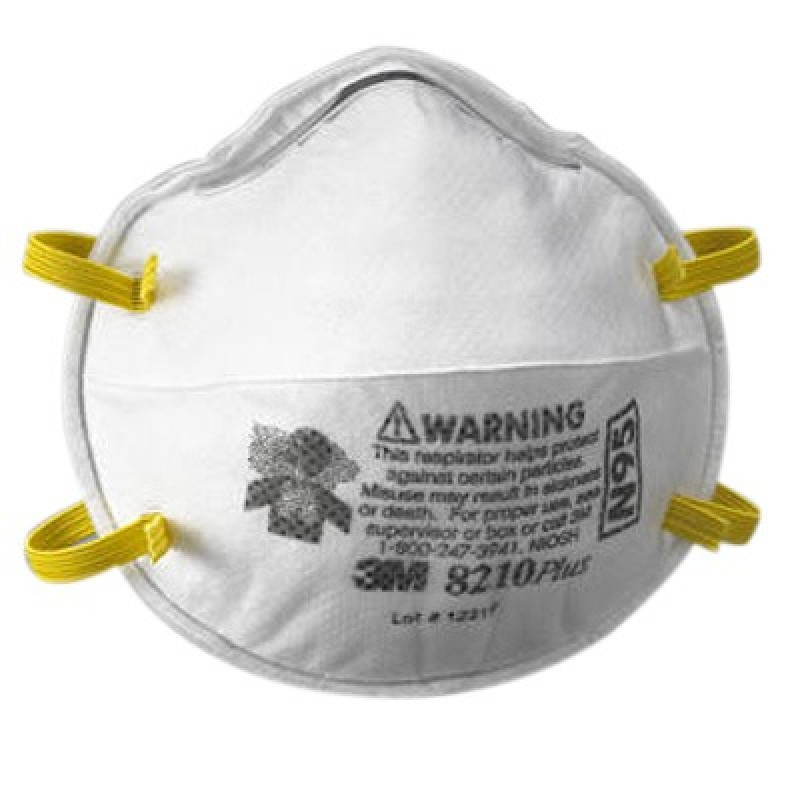 10 Respirator 8210pluspro 3m™ N95 Of Particulate box