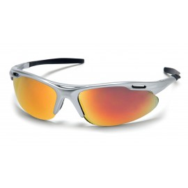 Pyramex  Avante  Silver Frame/Ice Orange Lens  Safety Glasses  12/BX