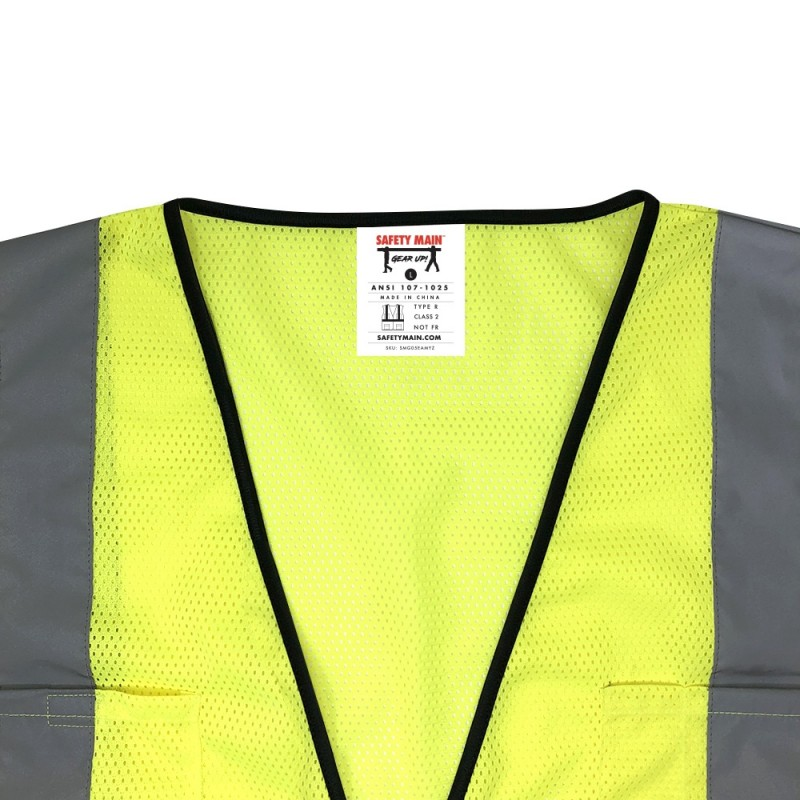 Safety Main Economy Vest - Class 2 - All Mesh (1 EA)