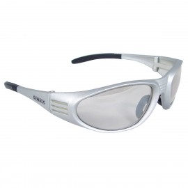 DEWALT Ventilator- Indoor/Outdoor Lens - Silver Frame Safety Glasses Full Frame Style Silver Color - 12 Pairs / Box
