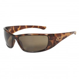 Radians Vengeance - Brown Polarized - Tortoise Shell Frame Safety Glasses  Style  Color - 12 Pairs / Box
