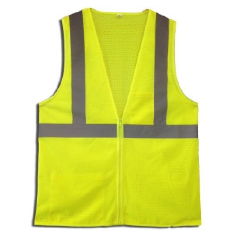 Cordova VZ261P Type R, Class 2 Safety Vest Yellow/Lime