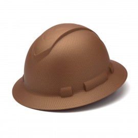 Pyramex HP54118 Ridgeline Full Brim Hard Hat  Copper Color - 12 / CS