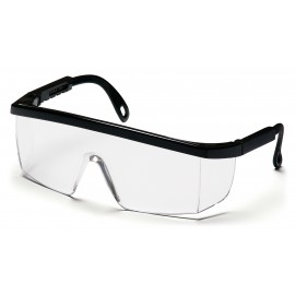 Pyramex  Integra  Black Frame/Clear Lens  Safety Glasses  12/BX