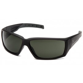 Venture Gear Tactical - Overwatch - Black Frame/Smoke Green Anti-Fog Lens Polycarbonate Safety Glasses - 1 / EA
