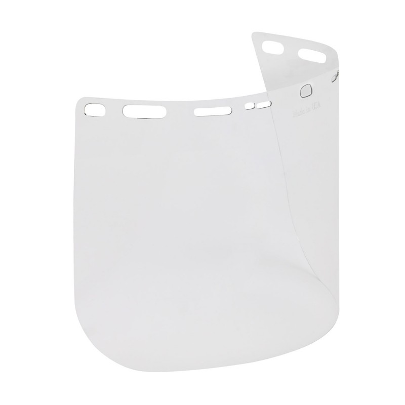 """PIP Bouton Optical Universal Fit Polycarbonate Safety Visor - .040"""" Thickness 100/Case"""