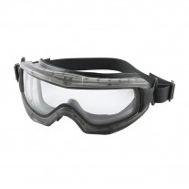 PIP 251-65-0020-RHB Reaction Indirect Vent Goggle Clear Double Lens, Anti-Scratch/Anti-Fog
