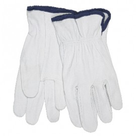 MCR Leather  Drivers Gloves, Premium Grain Goatskin , Straight Thumb 12 Pair