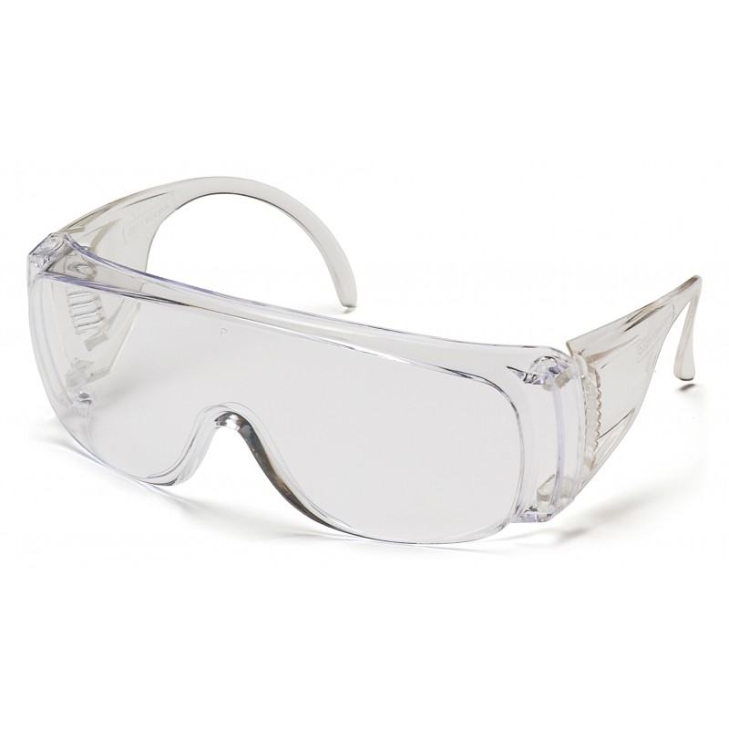 Pyramex Safety - Solo - Clear Frame/Clear Lens