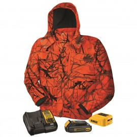 Dewalt Tru Timber™ Blaze Camo Heated Jacket - Full Kit Camo  - 1 / Box