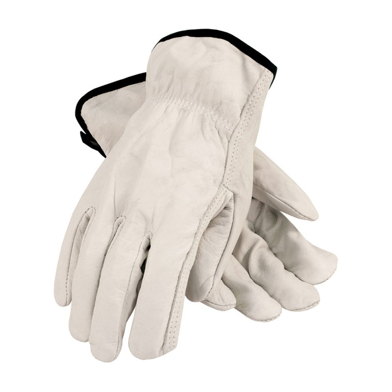 PIP 68-105 Leather Drivers Gloves, Economy Grain Cowhide (1 Pair)
