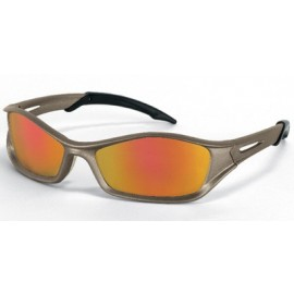 MCR Tribal Safety Sunglasses Fire Mirror Lens 1/DZ